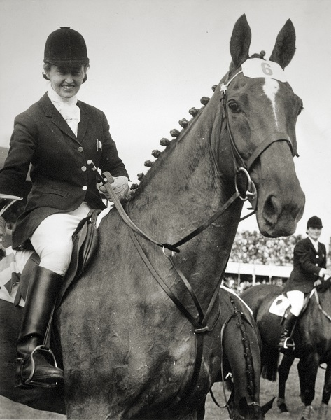 RDS_horseshow_Iris Kellett and Morning Light_1969.jpg