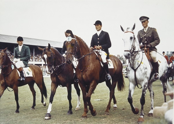 Aga Khan winning team, Nations Cup, 1963.